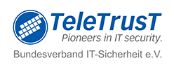 TeleTrusT – Bundesverband IT-Sicherheit e.V. Logo
